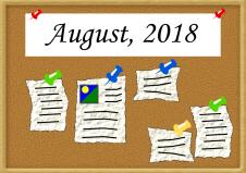 Bulletin Aug 18